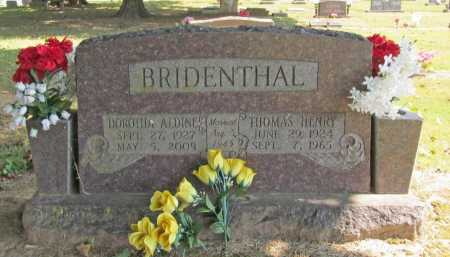 BRIDENTHAL, THOMAS HENRY - Washington County, Arkansas | THOMAS HENRY BRIDENTHAL - Arkansas Gravestone Photos