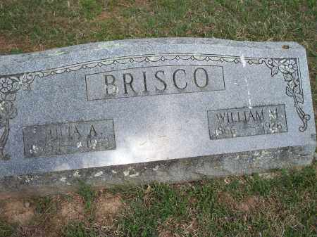 BRISCO, WILLIAM M. - Washington County, Arkansas | WILLIAM M. BRISCO - Arkansas Gravestone Photos