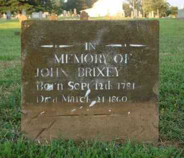 BRIXEY, JOHN - Washington County, Arkansas | JOHN BRIXEY - Arkansas Gravestone Photos