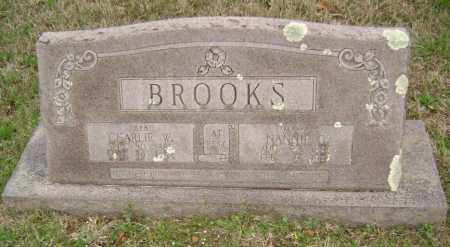 BROOKS, CHARLIE WILKERSON - Washington County, Arkansas | CHARLIE WILKERSON BROOKS - Arkansas Gravestone Photos