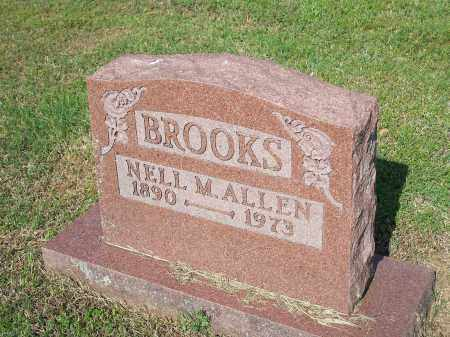 ALLEN BROOKS, NELL M. - Washington County, Arkansas | NELL M. ALLEN BROOKS - Arkansas Gravestone Photos