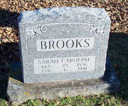 BROOKS, SARAH CAROLINE - Washington County, Arkansas | SARAH CAROLINE BROOKS - Arkansas Gravestone Photos