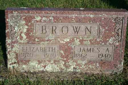 BROWN, ELIZABETH - Washington County, Arkansas | ELIZABETH BROWN - Arkansas Gravestone Photos