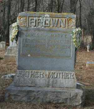 BROWN (VETERAN UNION), JAMES W - Washington County, Arkansas | JAMES W BROWN (VETERAN UNION) - Arkansas Gravestone Photos