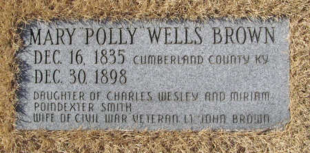 BROWN, MARY POLLY - Washington County, Arkansas | MARY POLLY BROWN - Arkansas Gravestone Photos