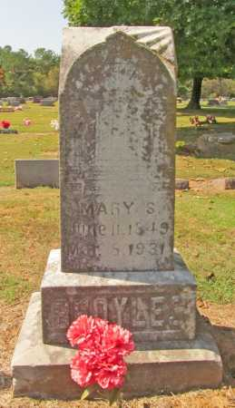 BROYLES, MARY S. - Washington County, Arkansas | MARY S. BROYLES - Arkansas Gravestone Photos
