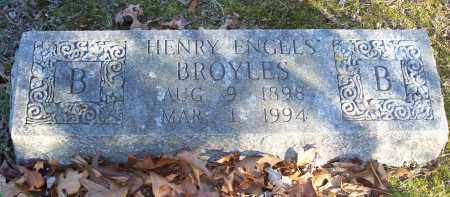 BROYLES, HENRY ENGELS - Washington County, Arkansas | HENRY ENGELS BROYLES - Arkansas Gravestone Photos