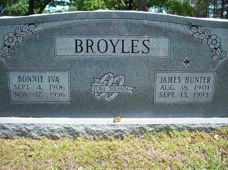 BROYLES, JAMES HUNTER - Washington County, Arkansas | JAMES HUNTER BROYLES - Arkansas Gravestone Photos