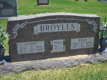 BROYLES, LOREE - Washington County, Arkansas | LOREE BROYLES - Arkansas Gravestone Photos