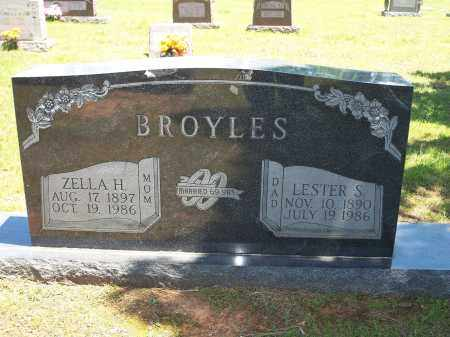 BROYLES, LESTER S. - Washington County, Arkansas | LESTER S. BROYLES - Arkansas Gravestone Photos