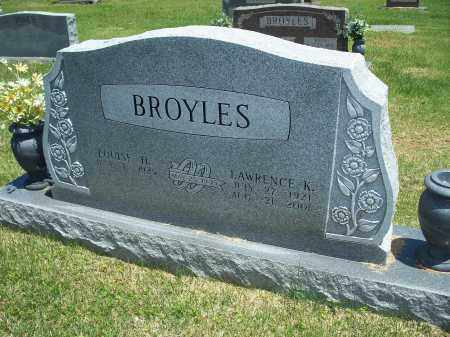 BROYLES, LAWRENCE K. - Washington County, Arkansas | LAWRENCE K. BROYLES - Arkansas Gravestone Photos