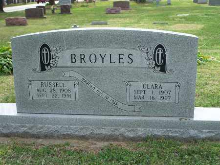 BROYLES, CLARA - Washington County, Arkansas | CLARA BROYLES - Arkansas Gravestone Photos