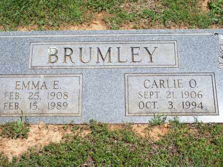 BRUMLEY, CARLIE O - Washington County, Arkansas | CARLIE O BRUMLEY - Arkansas Gravestone Photos