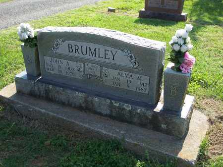 BRUMLEY, ALMA M. - Washington County, Arkansas | ALMA M. BRUMLEY - Arkansas Gravestone Photos