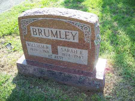 BRUMLEY, SARAH ELIZABETH - Washington County, Arkansas | SARAH ELIZABETH BRUMLEY - Arkansas Gravestone Photos