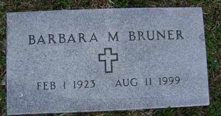 BRUNER, BARBARA M. - Washington County, Arkansas | BARBARA M. BRUNER - Arkansas Gravestone Photos