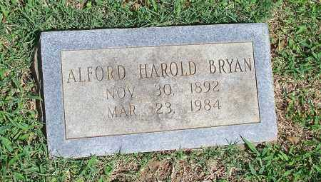 BRYAN, ALFORD HAROLD - Washington County, Arkansas | ALFORD HAROLD BRYAN - Arkansas Gravestone Photos