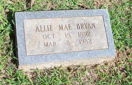 BRYAN, ALLIE MAE - Washington County, Arkansas | ALLIE MAE BRYAN - Arkansas Gravestone Photos