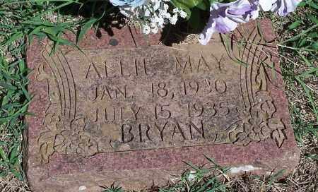 BRYAN, ALLIE MAY - Washington County, Arkansas | ALLIE MAY BRYAN - Arkansas Gravestone Photos
