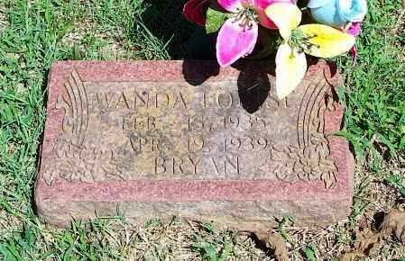 BRYAN, WANDA LOUISE - Washington County, Arkansas | WANDA LOUISE BRYAN - Arkansas Gravestone Photos