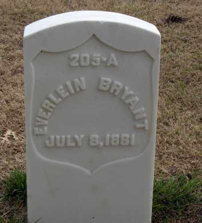 BRYANT (VETERAN UNION), EVERLEIN - Washington County, Arkansas | EVERLEIN BRYANT (VETERAN UNION) - Arkansas Gravestone Photos