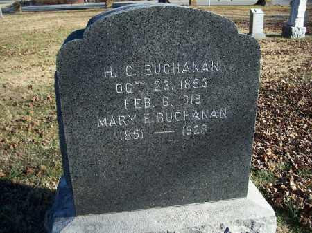 BUCHANAN, H. C. - Washington County, Arkansas | H. C. BUCHANAN - Arkansas Gravestone Photos