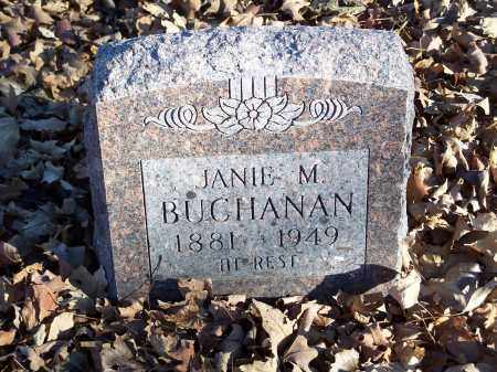 BUCHANAN, JANIE M. - Washington County, Arkansas | JANIE M. BUCHANAN - Arkansas Gravestone Photos