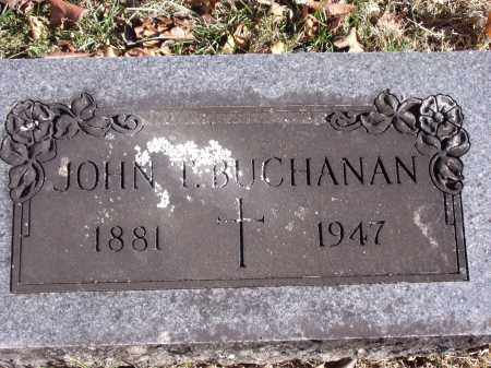 BUCHANAN, JOHN T. - Washington County, Arkansas | JOHN T. BUCHANAN - Arkansas Gravestone Photos