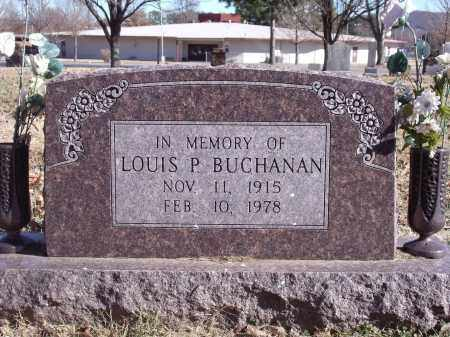 BUCHANAN, LOUIS P. - Washington County, Arkansas | LOUIS P. BUCHANAN - Arkansas Gravestone Photos
