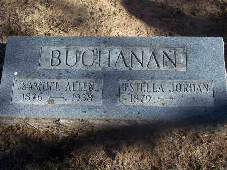 JORDAN BUCHANAN, ESTELLA - Washington County, Arkansas | ESTELLA JORDAN BUCHANAN - Arkansas Gravestone Photos