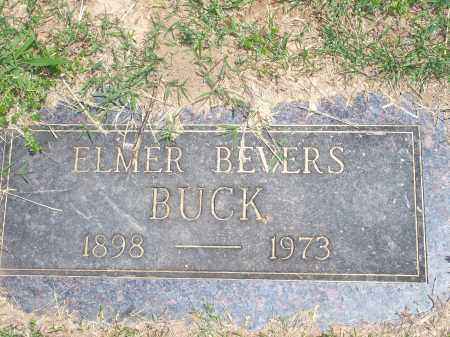 BUCK, ELMER BEVERS - Washington County, Arkansas | ELMER BEVERS BUCK - Arkansas Gravestone Photos
