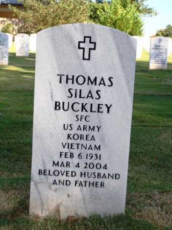BUCKLEY  (VETERAN 2 WARS), THOMAS SILAS - Washington County, Arkansas | THOMAS SILAS BUCKLEY  (VETERAN 2 WARS) - Arkansas Gravestone Photos