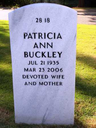 BUCKLEY, PATRICIA ANN - Washington County, Arkansas | PATRICIA ANN BUCKLEY - Arkansas Gravestone Photos