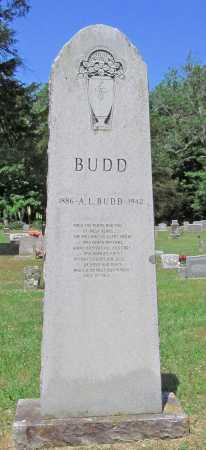 BUDD, A L - Washington County, Arkansas | A L BUDD - Arkansas Gravestone Photos