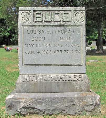 BUDD, LOUISA E. - Washington County, Arkansas | LOUISA E. BUDD - Arkansas Gravestone Photos
