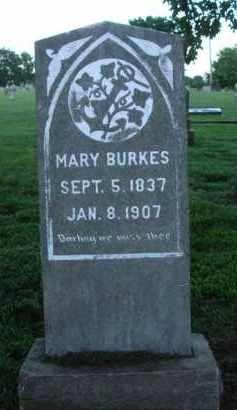 BURKES, MARY - Washington County, Arkansas | MARY BURKES - Arkansas Gravestone Photos