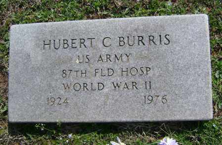 BURRIS  (VETERAN WWII), HUBERT C. - Washington County, Arkansas | HUBERT C. BURRIS  (VETERAN WWII) - Arkansas Gravestone Photos