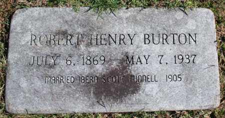 BURTON, ROBERT HENRY - Washington County, Arkansas | ROBERT HENRY BURTON - Arkansas Gravestone Photos