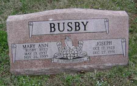 BUSBY, MARY ANN - Washington County, Arkansas | MARY ANN BUSBY - Arkansas Gravestone Photos