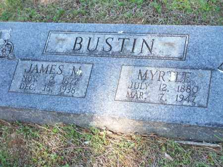 BUSTIN, JAMES M. - Washington County, Arkansas | JAMES M. BUSTIN - Arkansas Gravestone Photos
