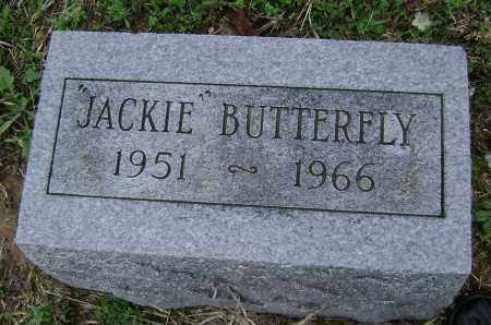 BUTTERFLY, JACQUELINE - Washington County, Arkansas | JACQUELINE BUTTERFLY - Arkansas Gravestone Photos
