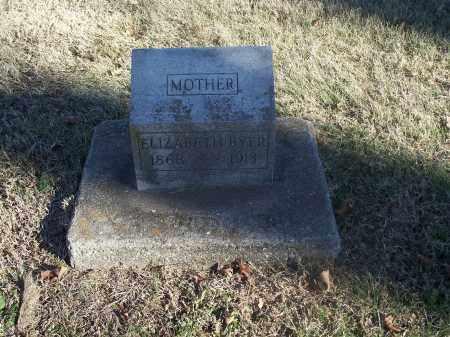 BYER, ELIZABETH - Washington County, Arkansas | ELIZABETH BYER - Arkansas Gravestone Photos