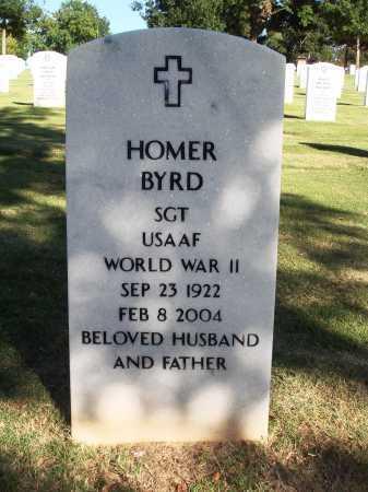 BYRD  (VETERAN WWII), HOMER - Washington County, Arkansas | HOMER BYRD  (VETERAN WWII) - Arkansas Gravestone Photos