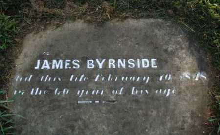 BYRNSIDE, JAMES - Washington County, Arkansas | JAMES BYRNSIDE - Arkansas Gravestone Photos