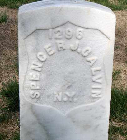 CALVIN (VETERAN UNION), SPENCER J - Washington County, Arkansas | SPENCER J CALVIN (VETERAN UNION) - Arkansas Gravestone Photos