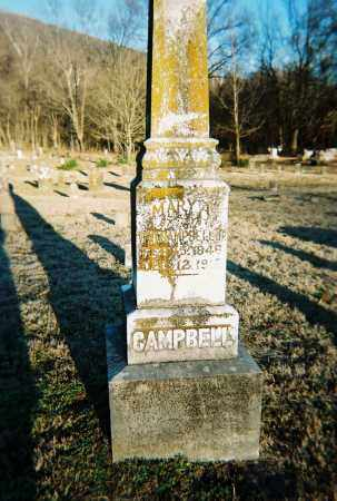CAMPBELL, MARY A. - Washington County, Arkansas | MARY A. CAMPBELL - Arkansas Gravestone Photos