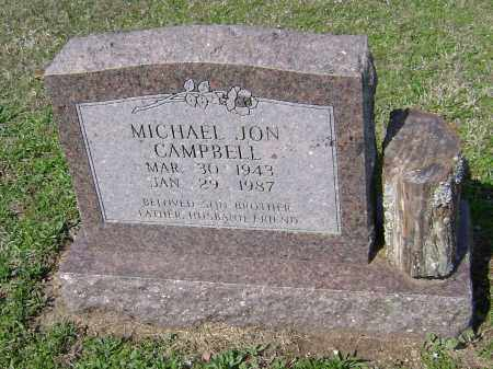 CAMPBELL, MICHAEL JON - Washington County, Arkansas | MICHAEL JON CAMPBELL - Arkansas Gravestone Photos