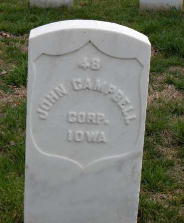 CAMPBELL (VETERAN UNION), JOHN - Washington County, Arkansas | JOHN CAMPBELL (VETERAN UNION) - Arkansas Gravestone Photos