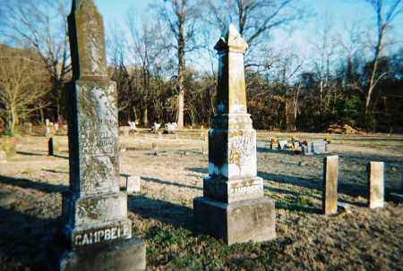 CAMPBELL, WILLIAM & MARY  -OVERVIEW- - Washington County, Arkansas | WILLIAM & MARY  -OVERVIEW- CAMPBELL - Arkansas Gravestone Photos