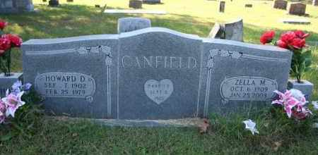 CANFIELD, HOWARD D. - Washington County, Arkansas | HOWARD D. CANFIELD - Arkansas Gravestone Photos